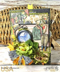 Zoo Party Ensemble, Safari Adventure by Kathy Clement, Product by Graphic 45 Photo 19