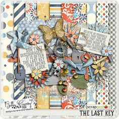 FREE The Last Key Kit Freebie by Bella Gypsy Designs