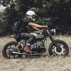 cafesofinsta — Sunday Funday with @saint.cc making use of their protective denim on this sweet airhead! • Follow @cafesofinsta and use our hashtag #cafesofinsta to get featured. Check our brand @blackgoldmoto. Premium moto accessories handcrafted in England. • Visit the link in our bio or check blackgoldmoto.com • #r100 #r80 #scrambler #tracker #bobber #caferacers #cafesofinsta #model #classicmotorcycle #mensstyle #builtnotbought #bike #mensfashion #fashion #streetstyle #gentleman #chopper…