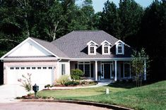 Ranch House Plan 50206