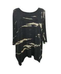 TIE DYE PRINT LOOSE FIT TOP - boutiq.com.au Loose Fitting Tops, Workout Tops, Must Haves, Tie Dye, Long Sleeve, Fitness, Sleeves, Mens Tops, T Shirt
