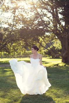 Photography by Jami Saunders www.jamisaunders.com Dress by Carol Hannah Featured on Carats & Cake