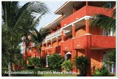 Barcelo Beach - Mexico, Mayan Riviera - The buildings