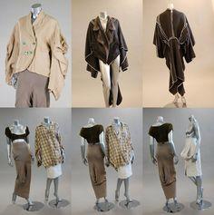 John galliano graduate collection 'les incroyables' 1984