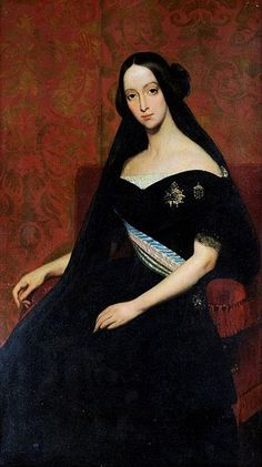 Francisca of Brazil,Princess Joinville by Ary Scheffer,1844