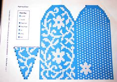 Crochet Mittens Free Pattern, Knit Mittens, Knitting Socks, Mitten Gloves, Hand Knitting, Knitting Charts, Knitting Stitches, Knitting Patterns, Fair Isle Chart