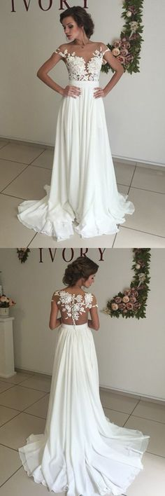 long wedding dresses,simple wedding dresses,lace wedding dresses,bridal gowns,cheap wedding dresses @simpledress2480