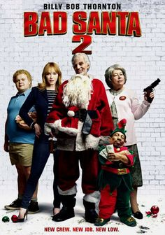 rent bad santa 2 and other movies tv shows on blu ray dvd - Steve Martin Christmas Movie