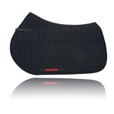 Back on track therapeutic all purpose saddle pad. reflects horse's natural body warmth and keeps back muscles relaxed and loose.
