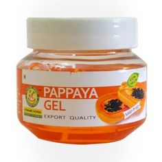 Papaya gel, the best bet for skin care. This skin firming and anti aging mask reduces the blemishes, dark spots and gives the skin an even tone. #skincare #healthcare #gel