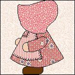 where I got pattern for my sunbonnet Sue quilt