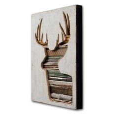 Dishfunctional Designs: Pass The Buck! Trendy Antlered Home Decor.. like this idea