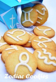 Zodiac Cookies...love them!