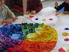 Great ideas for a lesson in Color Mixing
