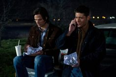 Taco everywhere tastes the same: Sam and Dean in Supernatural