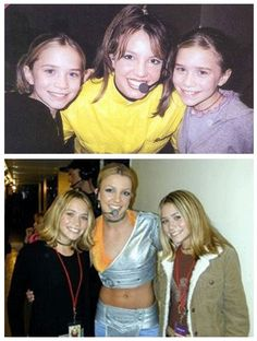 Britney Spears and Mary-Kate and Ashley Olsen Britney Spears, Olsen Sister, Olsen Twins, Mary Kate Ashley, Mary Kate Olsen, Celebrity Siblings, Prettiest Actresses, Britney Jean, Ashley Olsen