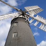 A working windmill in Lincolnshire