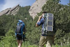 Here's two people celebrating the flexibility and versatility that comes with owning a Kickr 4 Solar Charger.  Look at that man.  He's using his Smartphone like there was no tomorrow.  He knows his Kickr4 has got his back, quite literally.