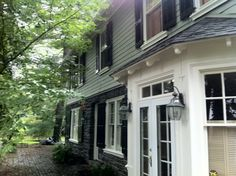 Exterior House Renovation // Ardmore, PA // After // Siding and Windows