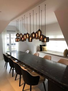 SKEPP Renting, furnishing and experiencing office space and workstations Industrial Style Lamps, Ceiling Light Design, Dinning Table, Dining Room, Small House Design, Loft Spaces, Small Space Living, Office Interiors, Interior Architecture