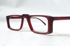 Your place to buy and sell all things handmade Red Burgundy, Eyeglasses For Women, Eye Glasses, Mid-century Modern, 1960s, Frames, Mid Century, Buy And Sell, Girly
