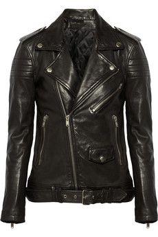 BLK DNM 8 leather biker jacket  | NET-A-PORTER