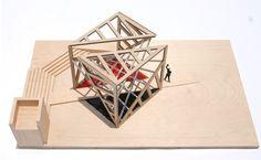 Cubo Transitable de Teodoro González de León en el Museo Tamayo.