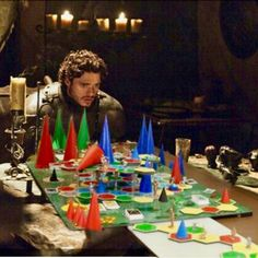 The Cones of Dunshire (If only he had sent a raven to Ben Wyatt, Robb would have won the war and made Ben so happy!) Game of Thrones + Parks and Rec mashup meme