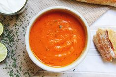 Roasted red pepper/carrot/tomato soup | NASH MAG