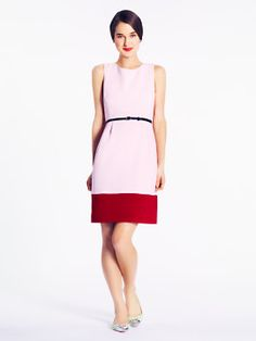 colorblock tiff dress