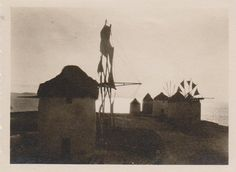 Μύκονος 1933.Οι Κάτω Μύλοι.