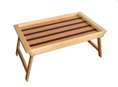 $50450 Mesa para llevar desayuno a la cama, elaborado en madera.