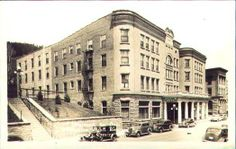 The Franklin Hotel around 1922.