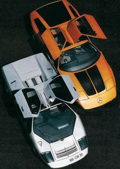 Mercedes-Benz C111 & Isdera Imperator