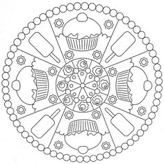 printable coloring pages mandala | Recent Photos The Commons Getty Collection Galleries World Map App ...