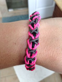 Rainbow loom sweetheart