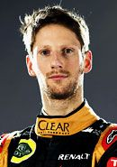 Romain Grosjean (2015) Lotus