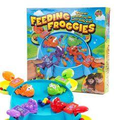 Onshine Feeding Froggies Interative Board Game Educational Toy for Children Creative Multiplayer Game Birthday Birthday Gift