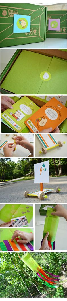 2-3 crafts, science projects and imaginative play activities $20