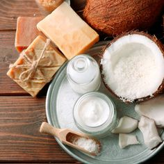 Homemade Shaving Cream with Coconut