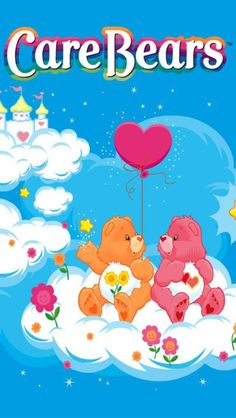 Care Bears ~ Love These Sweet Bears With Their Message On Their Belly!!