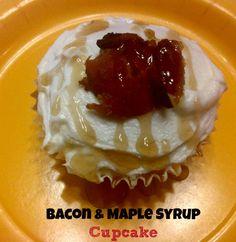 Bacon & Maple Syrup Cupcake