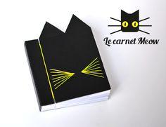 Le Carnet Meow - DIY + free printable