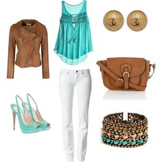 I love the blue and brown, my favorite colors!!