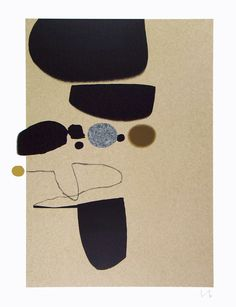 Victor Pasmore - Points of Contact No 25 (From a Series of 5)