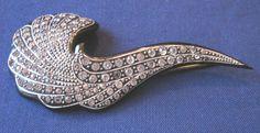 art deco 1920's brooch