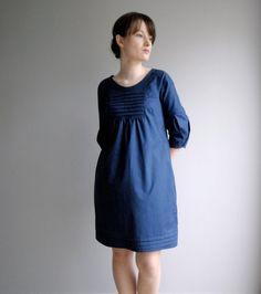 Vestido del algodón de Martha de día