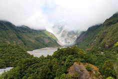 Franz Josef West coast New Zealand