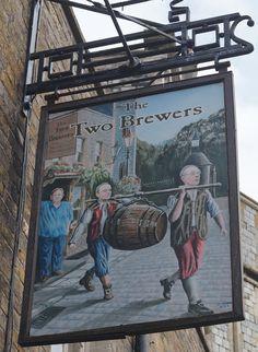 Pub Sign Art a la cARTe: The Two Brewers - Windsor, Berkshire