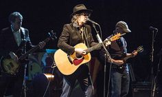 'Cosmic and rousing': Mike Scott with the Waterboys at Hammersmith. Photograph: Rob Ball/WireImage